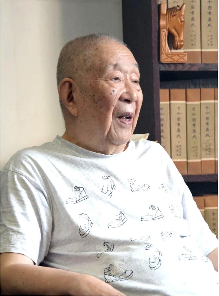 九旬钟叔河:念楼望海犹滔天-出版人杂志官网