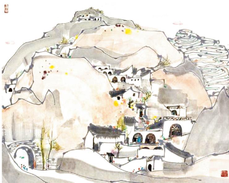 窑洞之花:地下四合院-出版人杂志官网