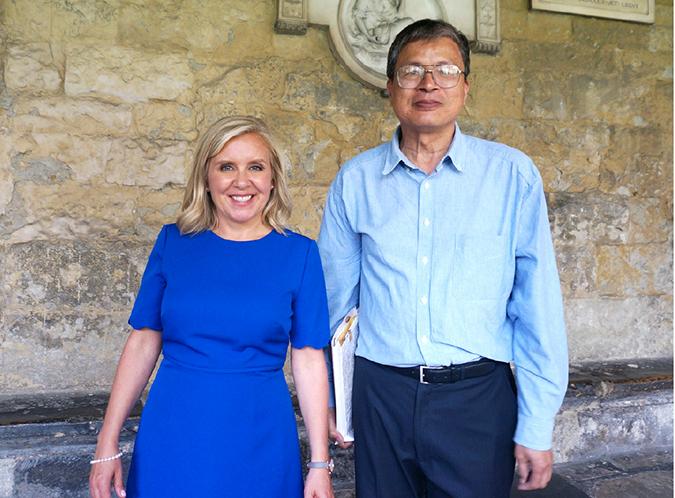 霍金和湖南出版界的友谊-出版人杂志官网