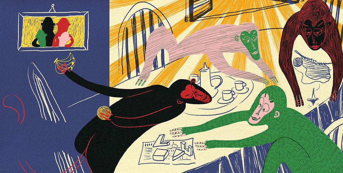 博洛尼亚插画展上的作品是如何选出来的?