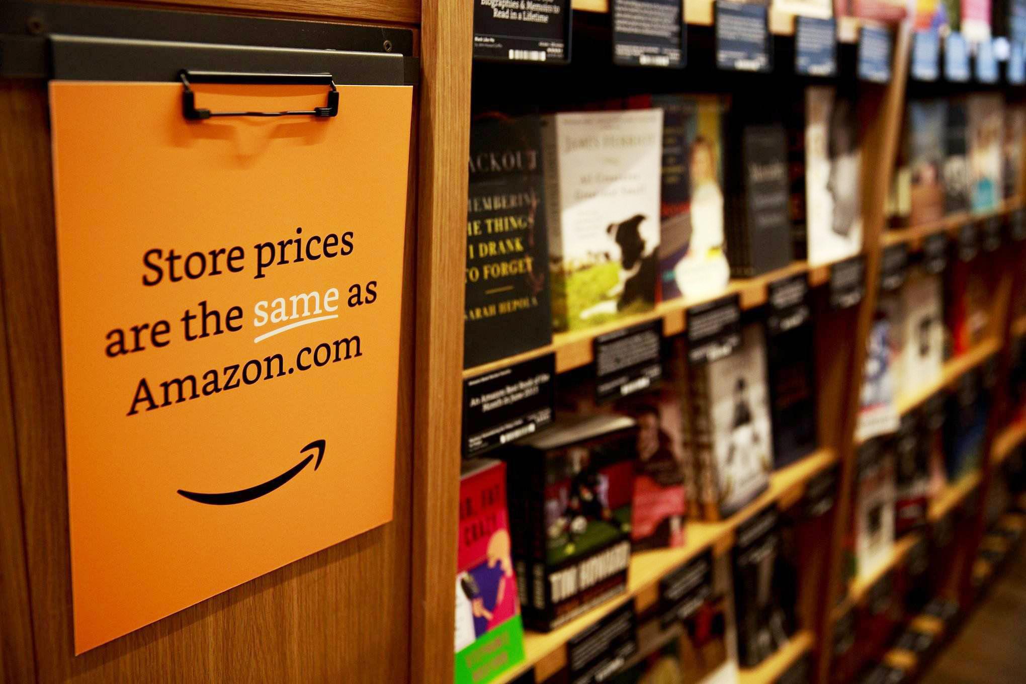 美出版股两极分化,亚马逊成大赢家
