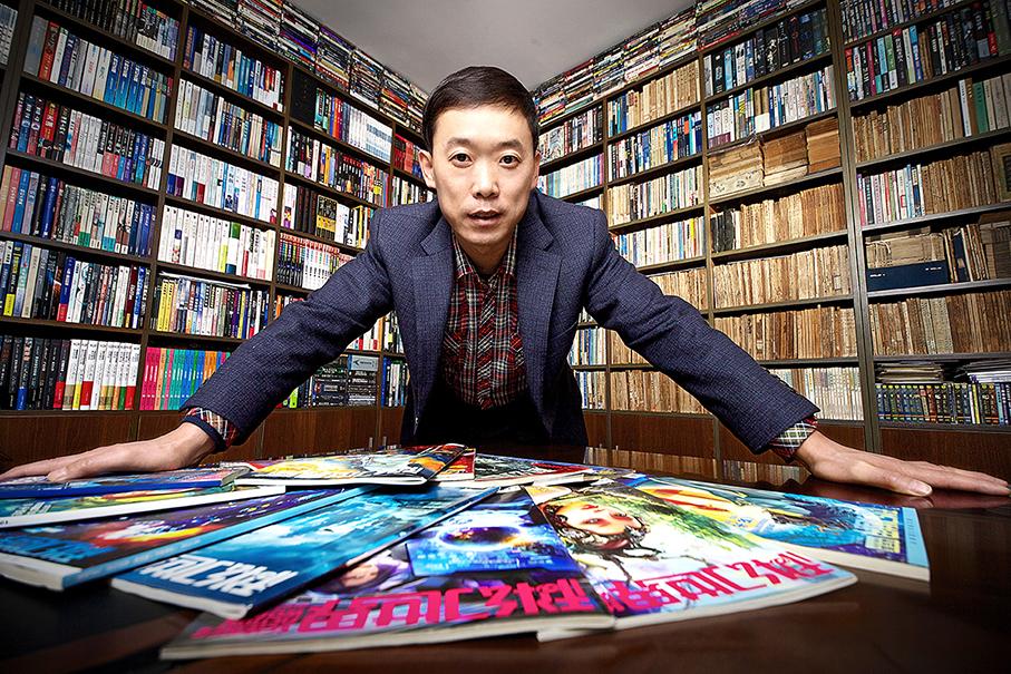 """将中国科幻从""""杂志时代""""带入""""畅销书时代"""""""