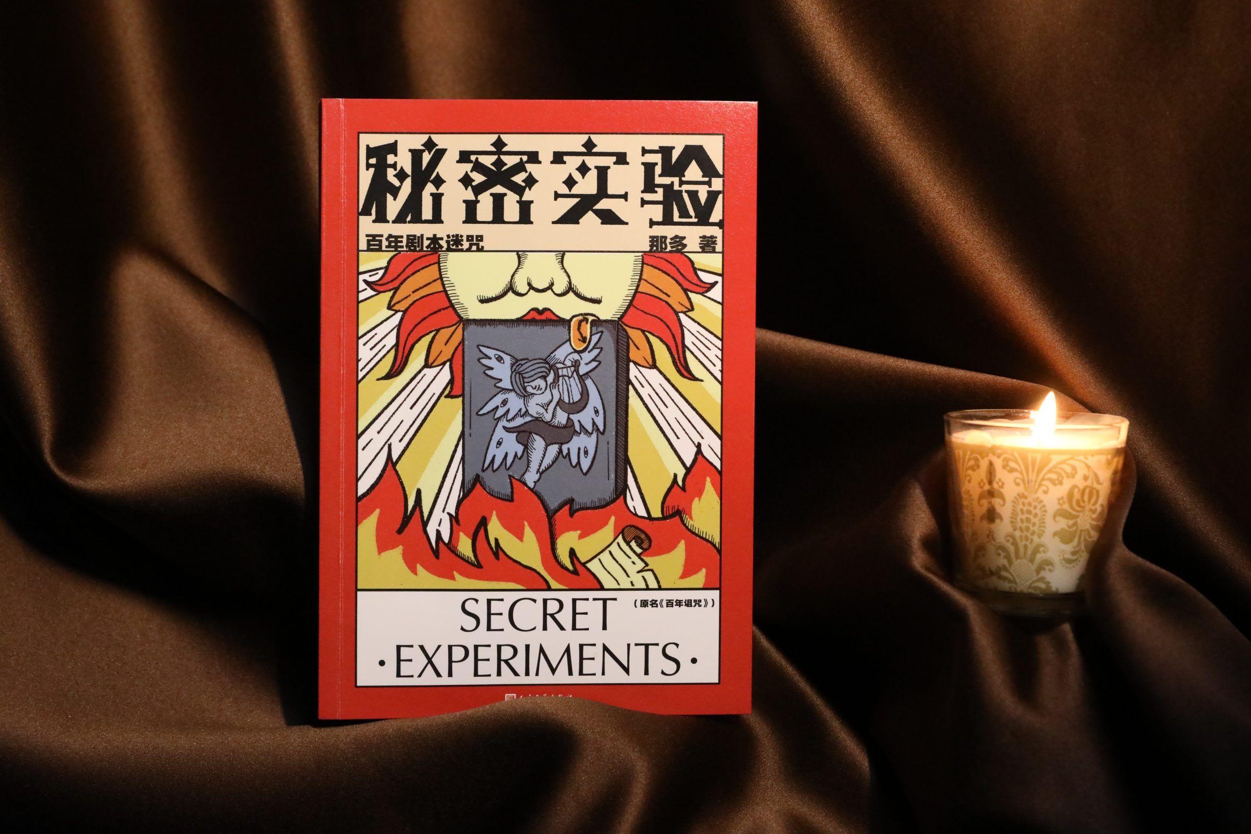 那多悬疑力作《秘密实验》由人文社隆重推出,融合历史悬疑艺术惊悚等元素的精品小说